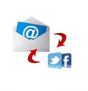 redes sociais mail